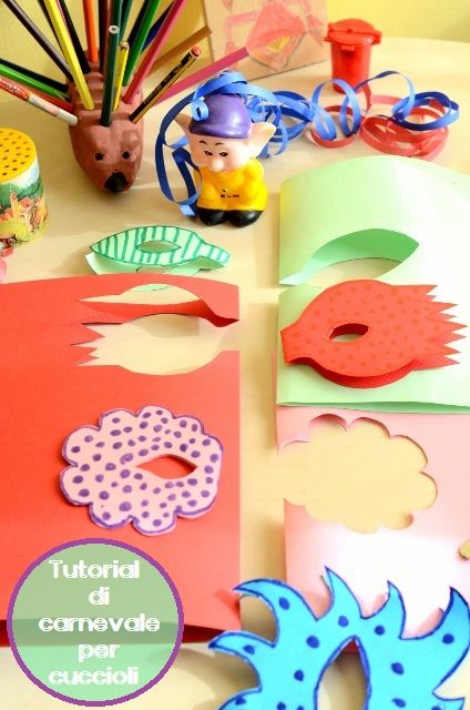 Linfa Creativa: Mini workshop di carnevale