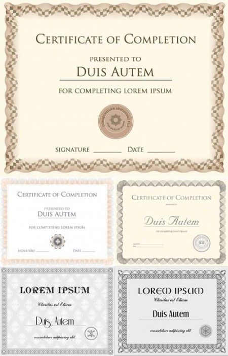 Best 25+ Certificate of completion template ideas on Pinterest - award templates free word