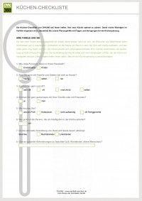 Epic Microsoft Word K chen Checkliste