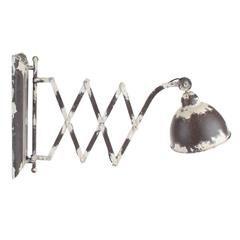 METAL WALL LAMP IN BROWN COLOR 70X13X40