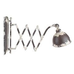 METAL WALL LAMP IN BROWN COLOR 70X13X40