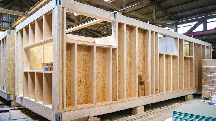 Unsere viel gefragten Modulhäuser, mit jeder Menge Vorteilen. Kurze Bauzeit – hohe Qualität – so individuell wie Sie – erweiterbar und umzugstauglich