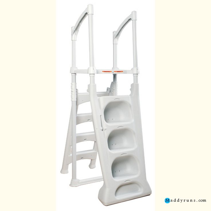 1000 ideas about pool ladder on pinterest above ground pool ground pools and above ground for Above ground swimming pool ladder parts