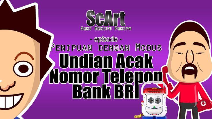 Animasi Rekaman Penipuan Telepon Lucu Modus Undian Nomor Telepon - ScArt...