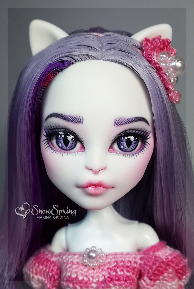 ~SnowSpring~ ООАК Monster High / EAH КУКЛЫ OOAK                                                                                                                                                                                 More