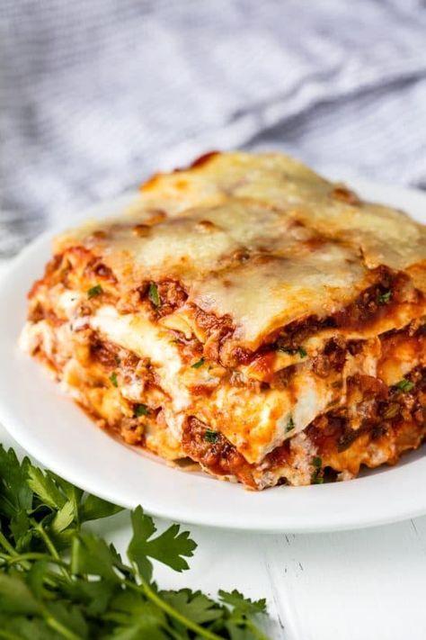 Das erstaunlichste Lasagne-Rezept ist das beste Rezept für hausgemachte …   – Food and drink