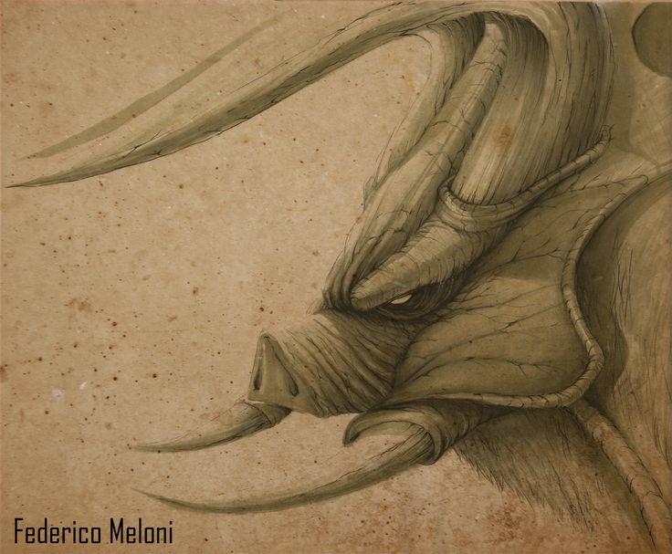 Giant Boar Monster