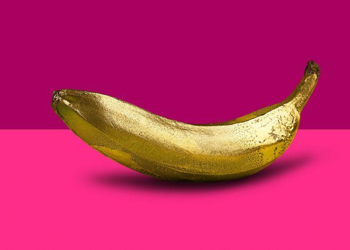 Banana Golden Pop Art - Monica Silva La quinta edizione dell'evento in una nuova sede in zona Porta Nuova