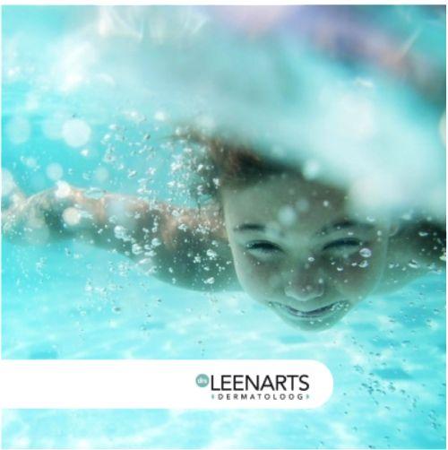 Dokter Leenarts geeft tips hoe je droge, gevoelige huid van je kindje (of jezelf) kan verzorgen bij het zwemmen