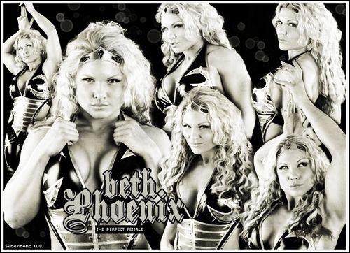 Beth Phoenix (done by me for friends) - wwe-divas Fan Art
