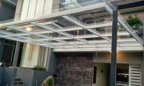 5 Desain Model Kanopi Teras Depan rumah sebagai pelindung grasi yang cukup sederhana - http://goo.gl/RG5GF9