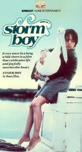 Storm boy; one of the most beautiful and evocative Australian films. Somehow my copy of the film's picture book has survived the decades, meaning my kids can fall in love with it too.