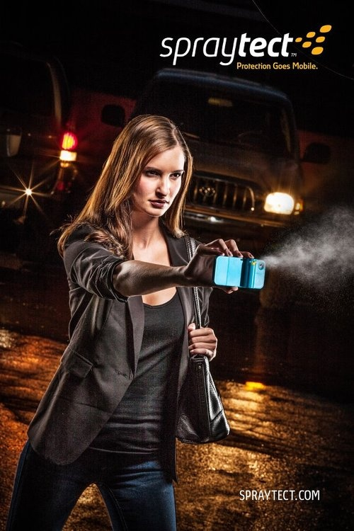 Spraytect iPhone Case with Retrouvable Pepper Spray