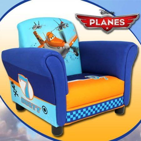 Amazon.com: Disney Planes Upholstered Chair: Home U0026 Kitchen