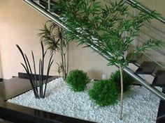 jardines interiores debajo de escaleras buscar con google