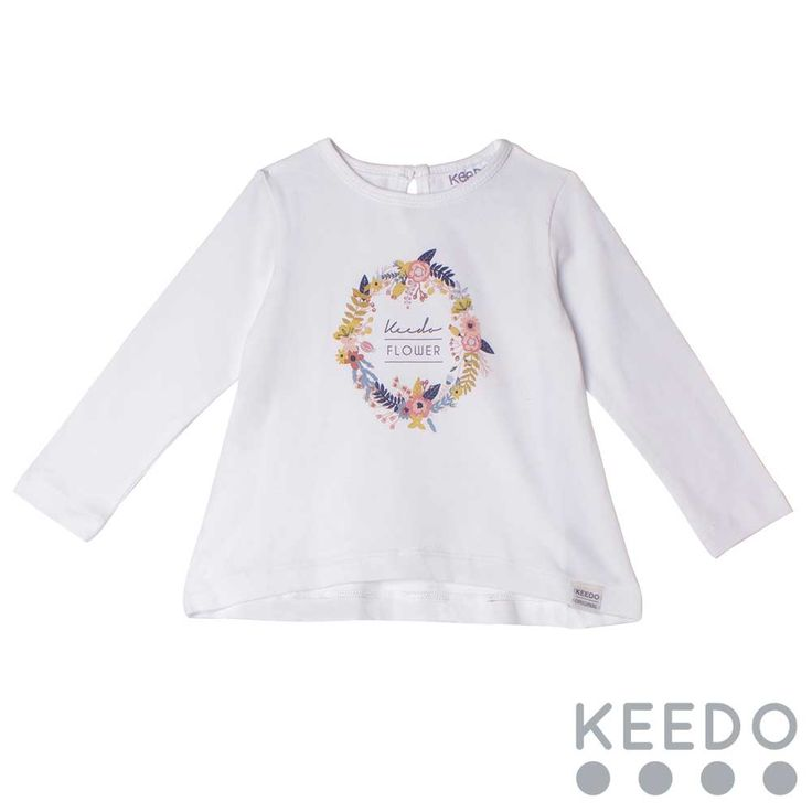 Heart Tee - A keyhole neckline on this cotton t-shirt makes for easy dressing