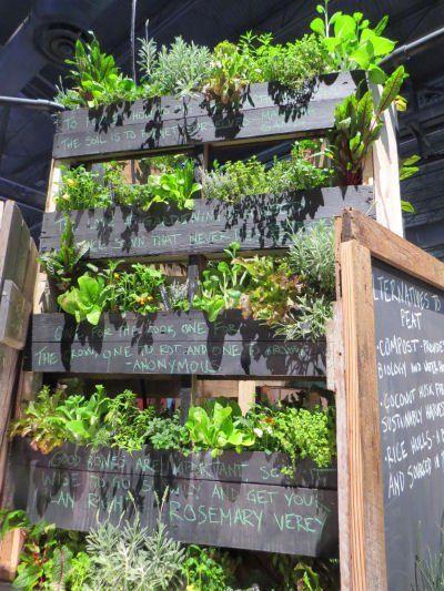 Philadelphia Flower Show vertical garden - very cool!