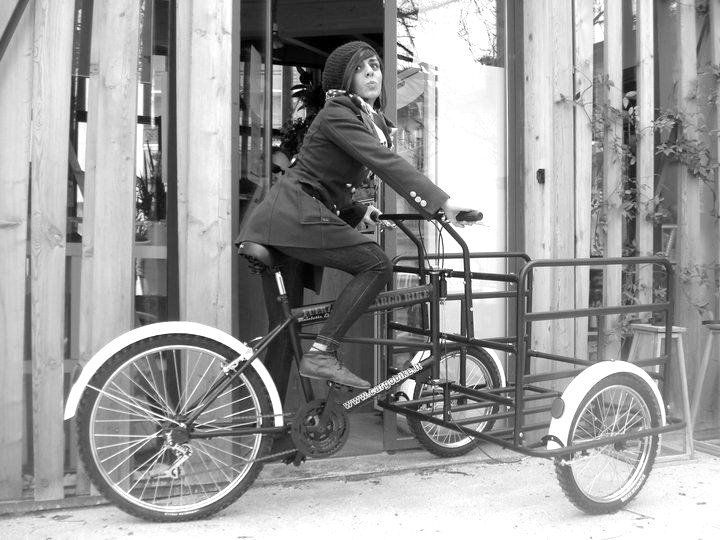 91 best images about bike on pinterest bike chain for Bicicletta per tre persone