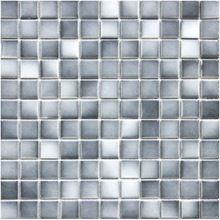 Gradient gris en céramique carreaux de mosaïque cérame émaillé cuisine dosseret de tuiles salle de bains mur miroir mosaïques de sol décor(China (Mainland))