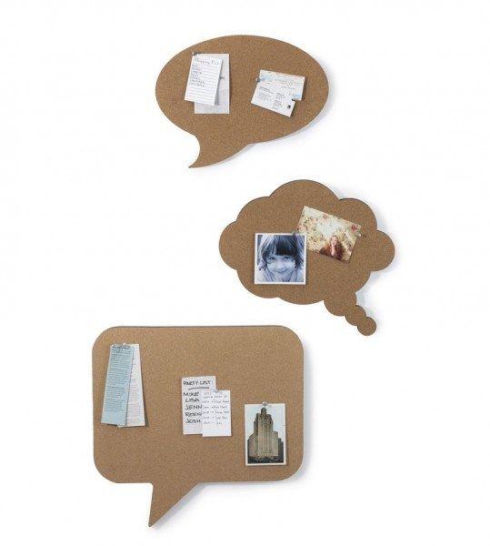 Umbra Talk Kurk Memobord - Set van 3 - 101 Woonideeën online webwinkel