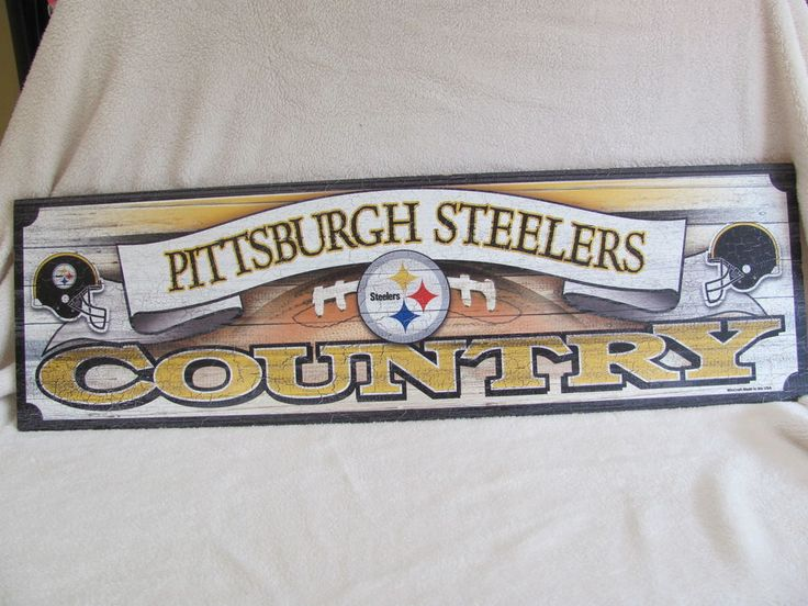Pittsburgh Steelers Country Wall Decor Man Cave Bedroom ...
