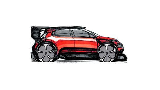 Rally Citroen C3 WRC: sketch review - Auto Show - Cardesign.ru
