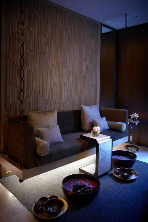 SpaWellness Mandarin Oriental Singapore  BAMBOO MEDIA  Restaurant  Spa lounge Spa massage