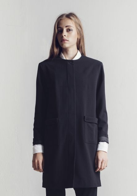 COAT VOON BLACK | Rodebjer