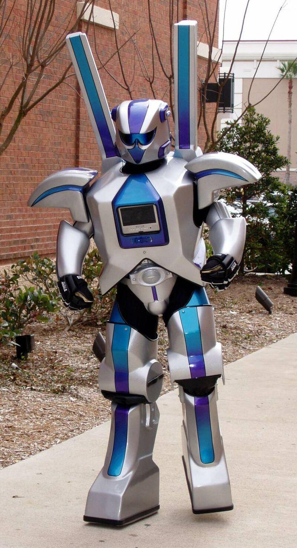 картинки для костюма робот женщинам рекомендуется выбирать