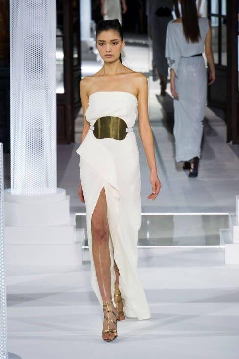 A Grecian goddess at Vionnet Fall 2013 #runway #fashionweek