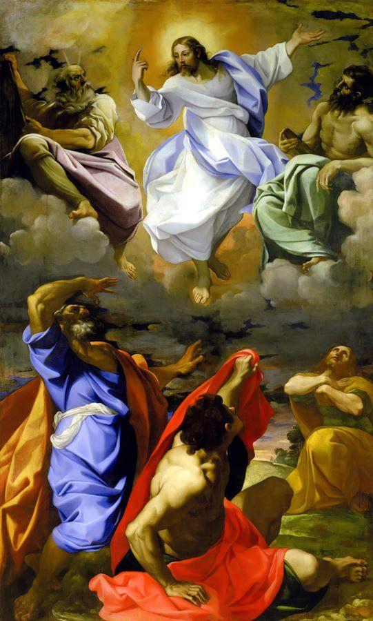 Transfiguration by Lodovico Carracci: Catholic, Christian Art, Jesus Christ, Lord, Holy Rosary
