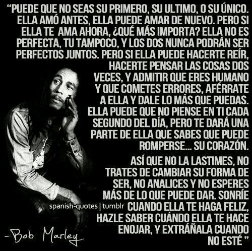18 best frases de bob marley images on pinterest spanish quotes puede que no seas su primero bob marley find this pin and more on frases de thecheapjerseys Image collections