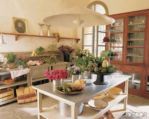 Home of designer Henri Quintain Perpignan, France. Elle Decor.
