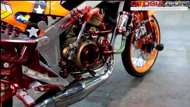 Modifikasi Kawasaki Ninja 150 Next Gen Surabaya 2014