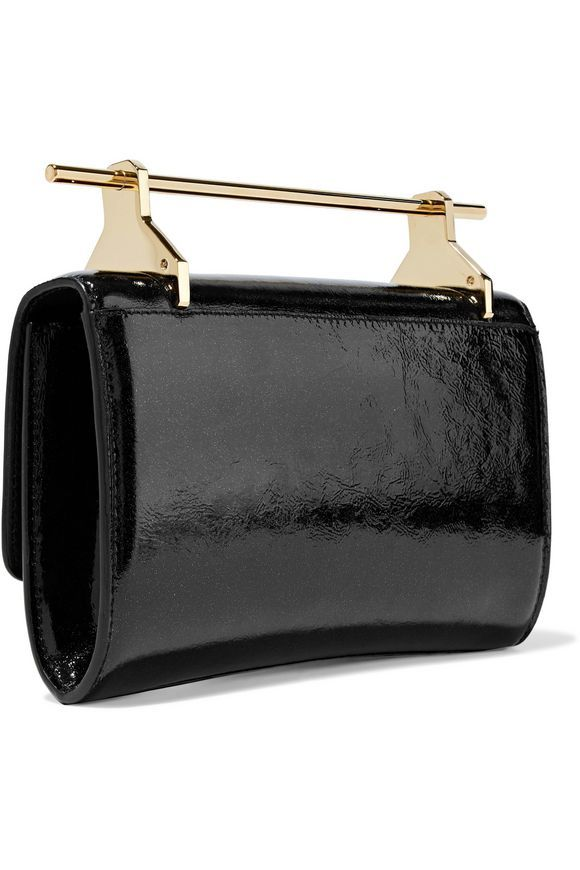 559c409ecd86 M2MALLETIER Patent-leather clutch bag