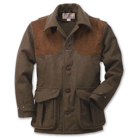Filson Wool Tweed Shooting Clays coat would look great with that Beretta shotgun down toward the bottom of the page.