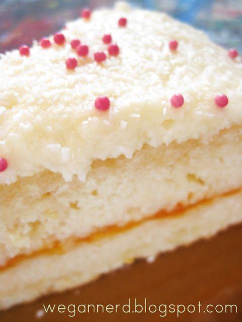 Wegan Nerd - Kuchnia roślinna : Tort cytrynowy, krótka nota i film :)