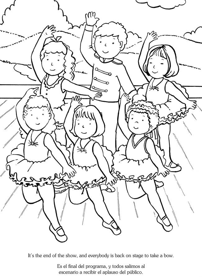 344 best Dance coloring sheets and pics images on Pinterest ...