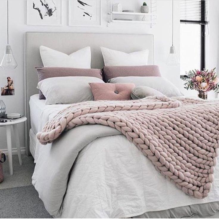 Blush Pink & White