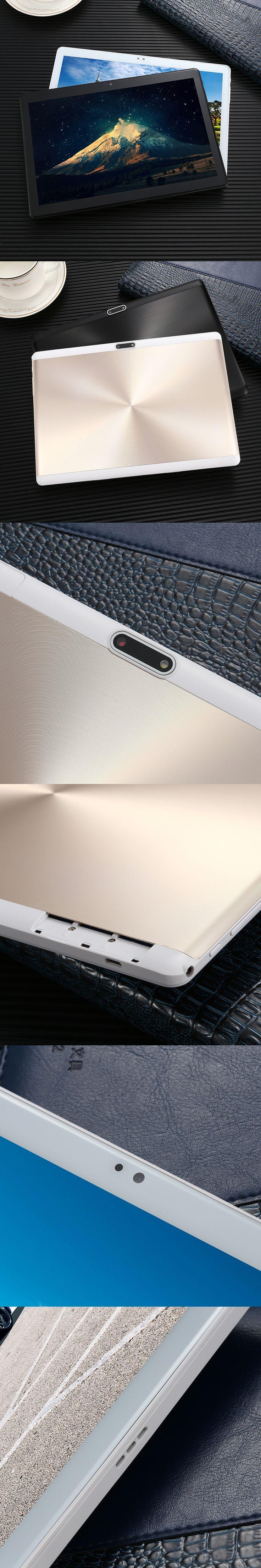2018 10 core 10 inch Android 7.0  Tablet 4G LTE Dual SIM Phone Call 64GB ROM 4GB RAM WIFI bluetooth GPS 1920x1200 HD Tablet 10