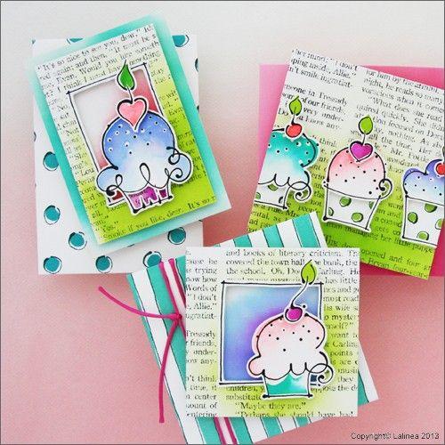 SP0623 Set voor tenminste 8 cupcake kaarten