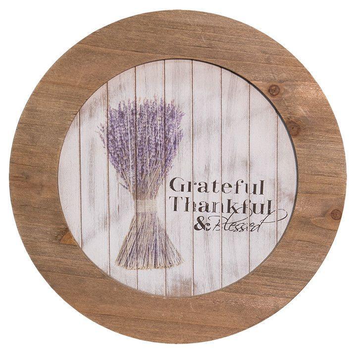 Primitive Country Wooden Decorative Grateful Thankful Blessed Plate Farmhouse  sc 1 st  Pinterest & 48 best Decorative Plates images on Pinterest