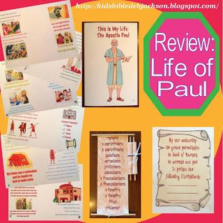 Bible Fun For Kids: Review of Paul's Life