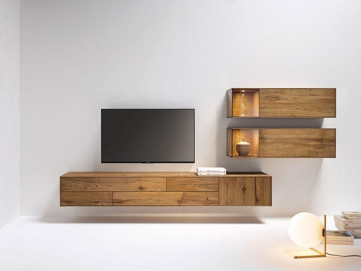 die besten 25 tv wandmontage wand ideen auf pinterest lowboard 300 cm tv wand eckl sung und. Black Bedroom Furniture Sets. Home Design Ideas