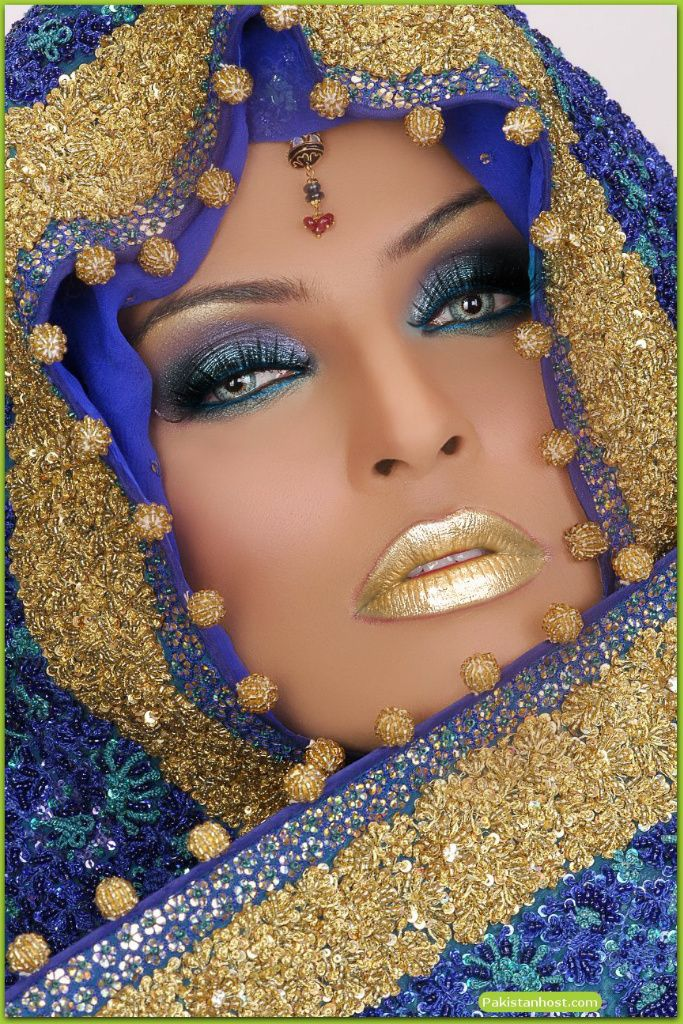 Sexy Lips *•..¸⭐️¸.•* Tips & Tricks: GOLD ARABIC by drmig123: After a TAAZ Virtual Makeover