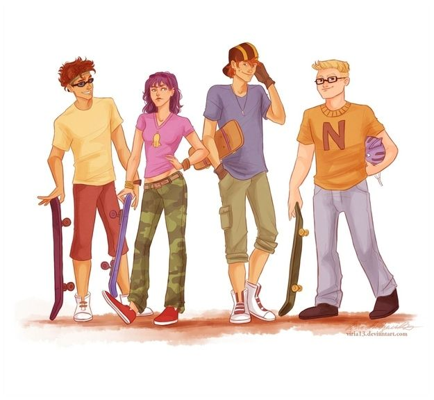 Rocket Power | 17 Cartoon Characters Drawn As Adults