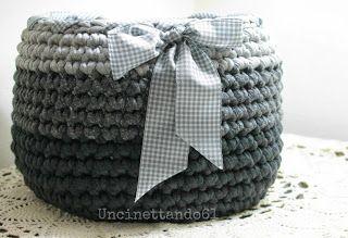 Crochet basket (photo only, no tutorial)