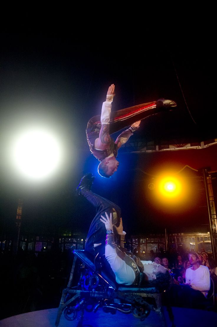 Foot jugglers,Madame Zingara.