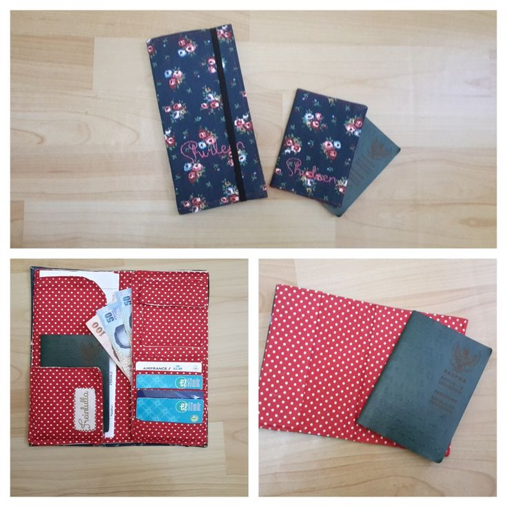 Passport cover and traveling organizer for keeping your traveling stuff tidy..