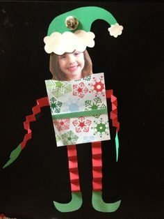 Elf Yourself Craftivity SANDY's Idea>(This would be cute for Elf On The Shelf to make Elves of the kids) Elf's New Friends!
